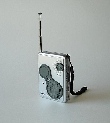 AM/FM Weather Band Radio