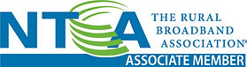 NTCA Associate Member badge - The Rural Broadband Association
