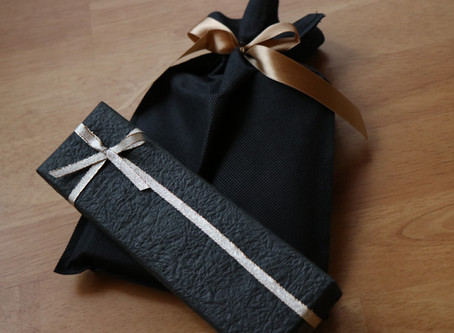 プレゼント包装はじめました!