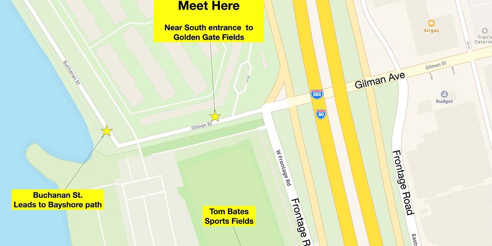 Untrash Gilman/SF Bay Trail -  Sun Nov 1st from 3:30 to 5:30