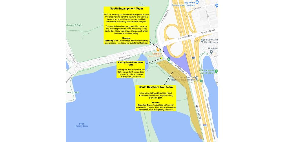 Untrash University Ave / Seabreeze Area