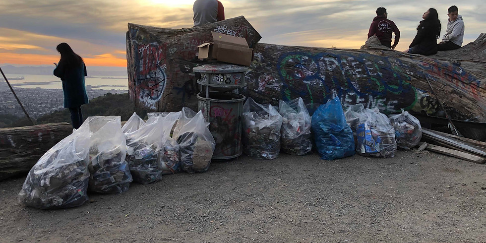 Feb 23rd Grizzly Peak Cleanup from 3 to 5