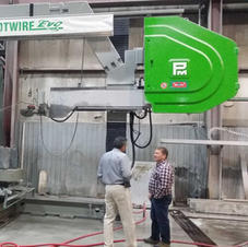 5 Axis wire saw