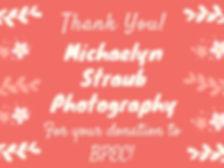 Michaelyn Straub Photography Thank You 2