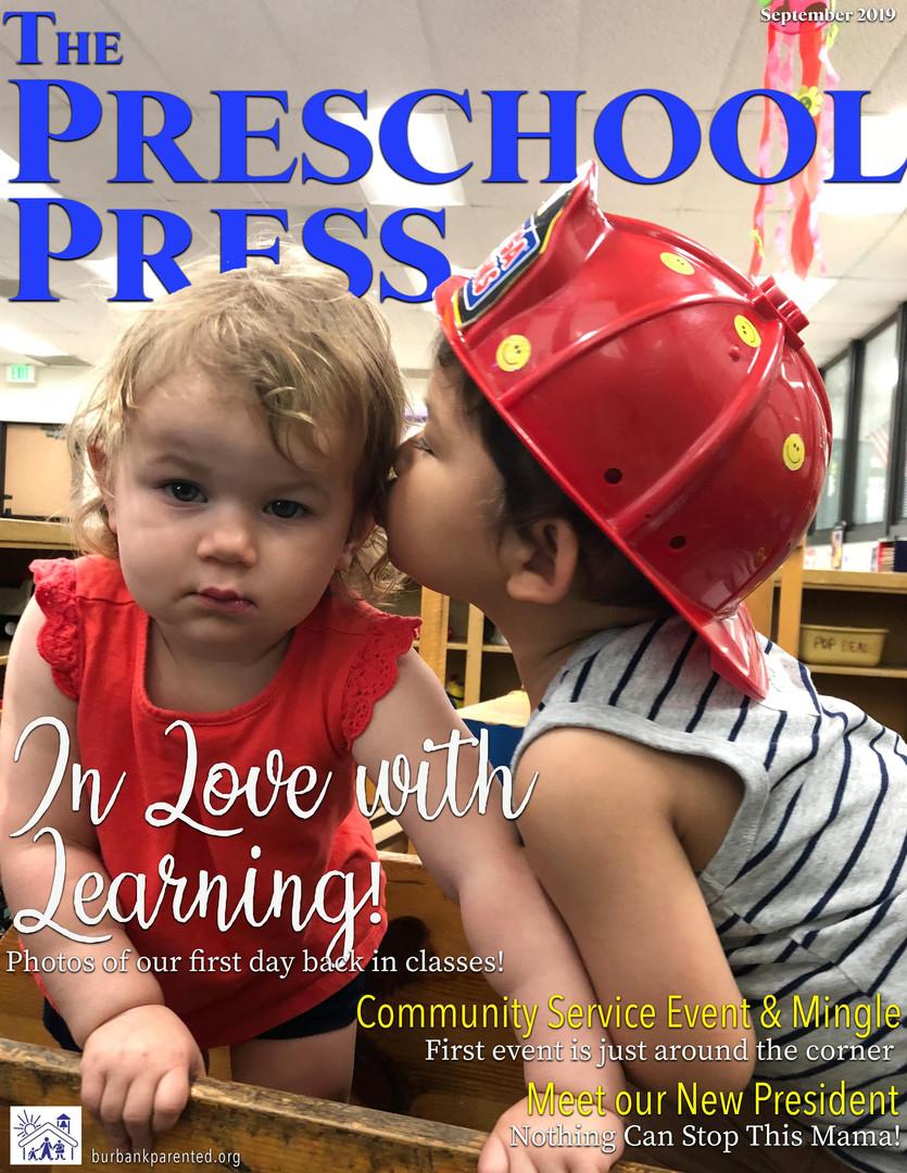 Sept 2019 Preschool Press Cover