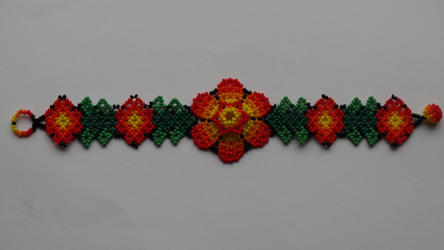 9e1f5f0b6a1a Pulsera de Flor Hikuri