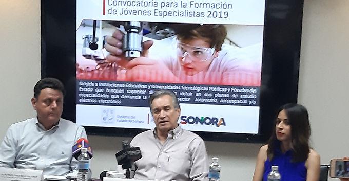 Sonora forma especialistas para la Industria 4.0