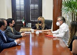 Anuncia gobernadora Claudia Pavlovich llegada a Sonora de Stanley Black & Decker