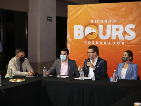 Sonora necesita un gobernador con carácter: Ricardo Bours