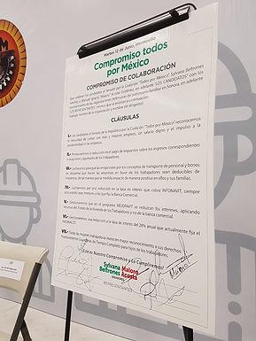 Prometen reformas candidatos del PRI a trabajadores de CTM