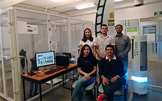 Apoya Conacyt proyecto Unison para reducir el contagio aerotransportado de virus covid-19