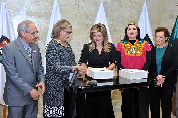 Gobernadora del estado, Claudia Pavlovich entrega su 3 informe ante el Congreso del Estado