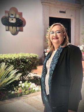 María Rita Plancarte Martínez expresa su agradecimiento como rectora electa