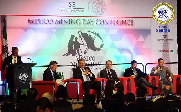 Mexico Minning Day conference