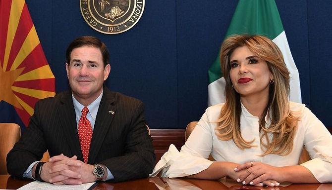 Sonora y Arizona coinciden en fortalecer la relación comercial