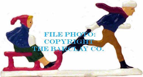 GF-081: Boy Pulling Kid Sister
