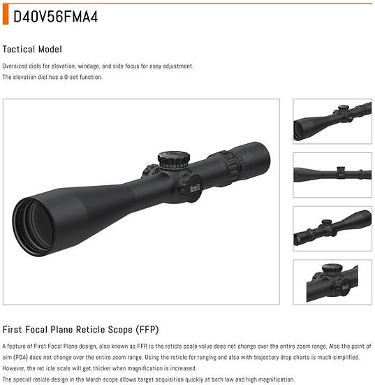 D40V56FMA4 - MARCH FX