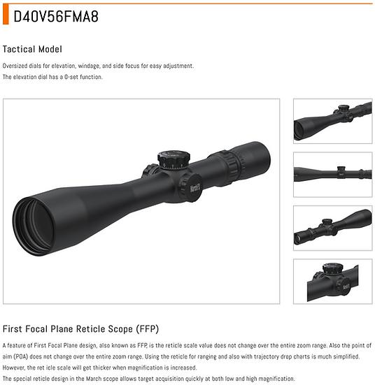 D40V56FMA8 - MARCH FX