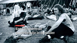 Multimedia Production   25 years Lowlands Festival