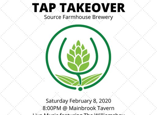 TAP TAKEOVER w/ Source Brewing