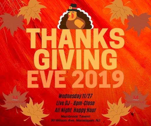 Thanksgiving Eve 2019