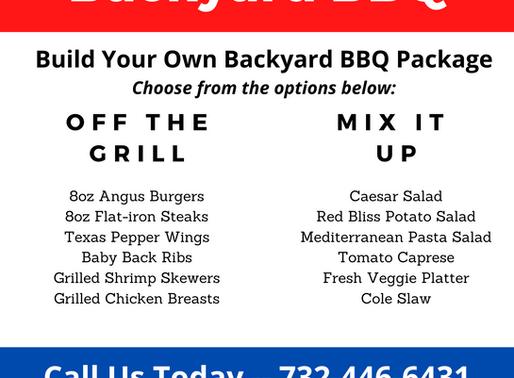 Memorial Day Backyard BBQ