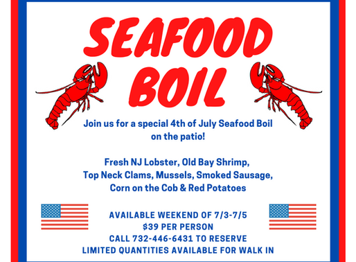 4th of July Seafood Boil