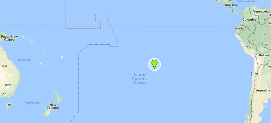 Henderson Island location