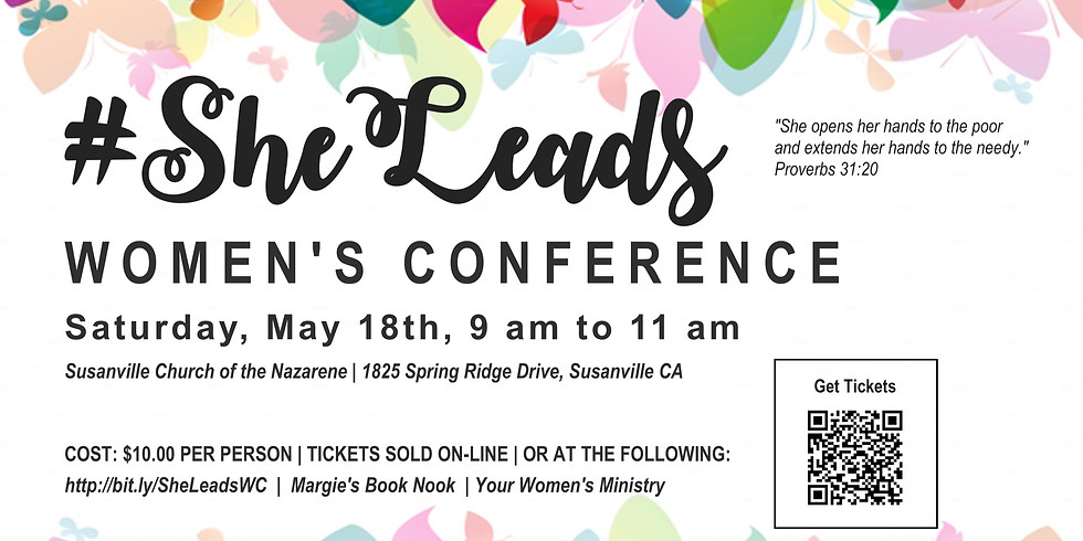 #SheLeads Women's Conference (1)