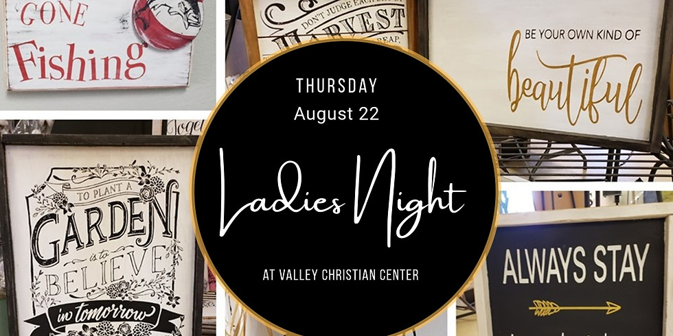 VCC Ladies Night Sign Party