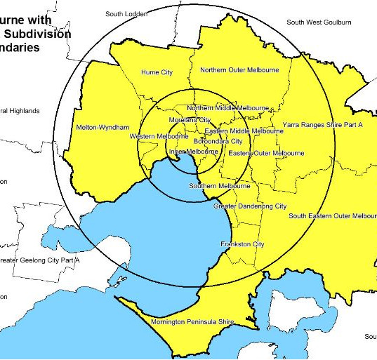 We work across Melbourne