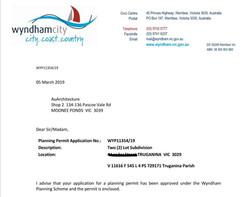 Wyndham Council planning unit