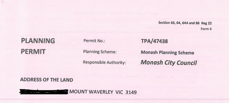 Medical Centre approved by Monash Counci