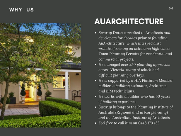 Why AuArchitecture