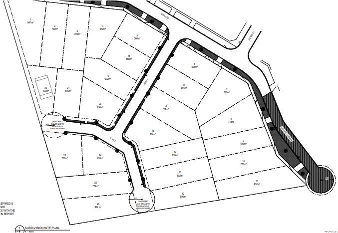 Torrens title subdivision