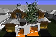 Duplex challenging site
