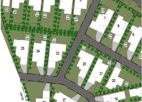 Greenfield subdivision lot design
