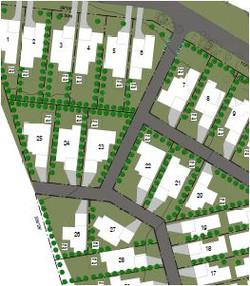 Strata titled large subdivision