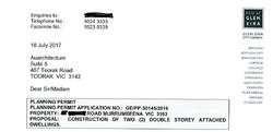 Glen Eira Planning permit