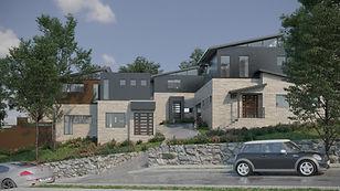 Townhouse-Unit development