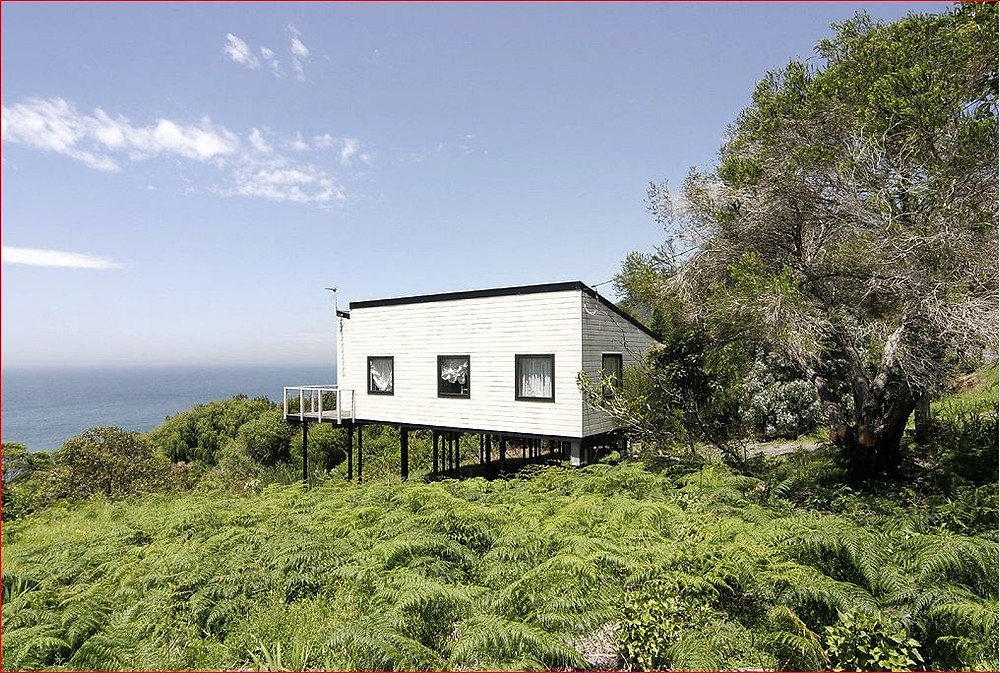 The Beach house that moved with the soil movement
