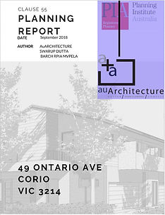 Town Planning Report for Architects and