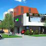 6 townhouse development AuArchitecture