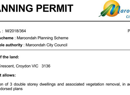 Town Planning Permit Applications can be complex