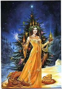 Winter Solstice Goddess