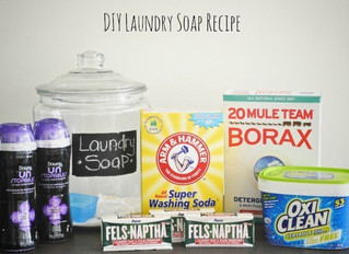 How to Make your own laundry soap!