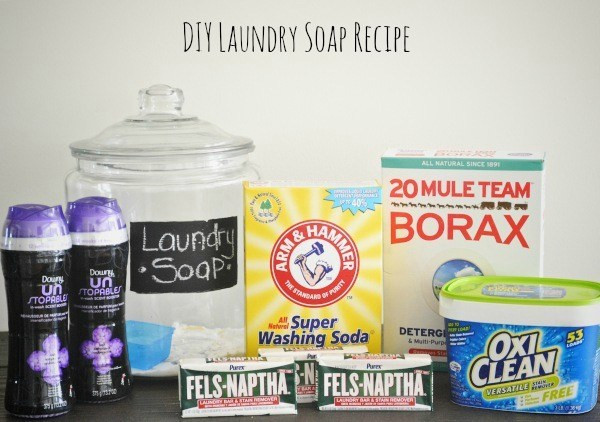 Do It Yourself Laundry Soap!