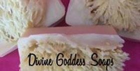 Bergamot and Mandarin Sea Sponge Shea Butter Soap