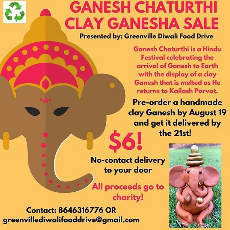 Ganesh Chaturthi Homemade Clay Ganesha Sale 2020