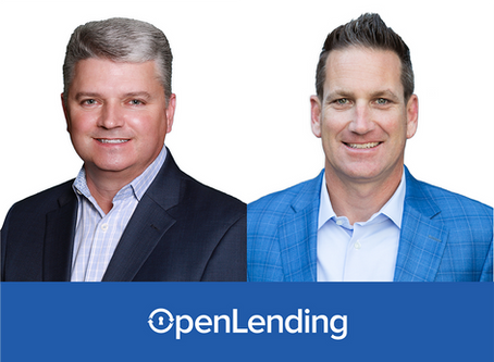 Open Lending Announces New VP of Captives and Finance and New Regional VP of Sales